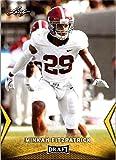#4: 2018 Leaf Draft Gold #43 Minkah Fitzpatrick Alabama Crimson Tide Football Card