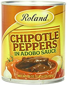 Roland Chipoltle Peppers in Adobo Sauce, 2 Cans, 14 Oz