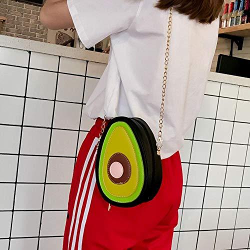 al Piel mujer Avocado Sintética hombro para Widewing Bolso de Pxgwp5nz