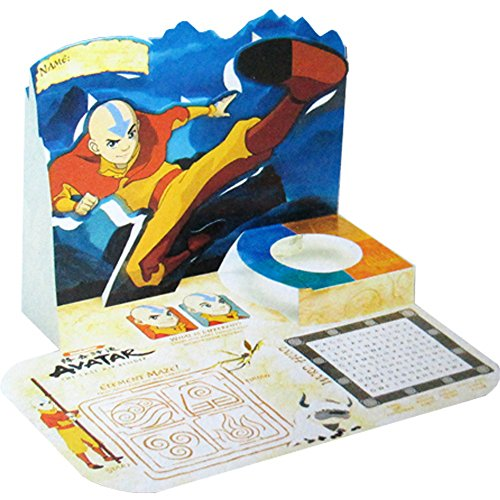 Avatar The Last Airbender Pop-Up Activity Place Mats (4ct)