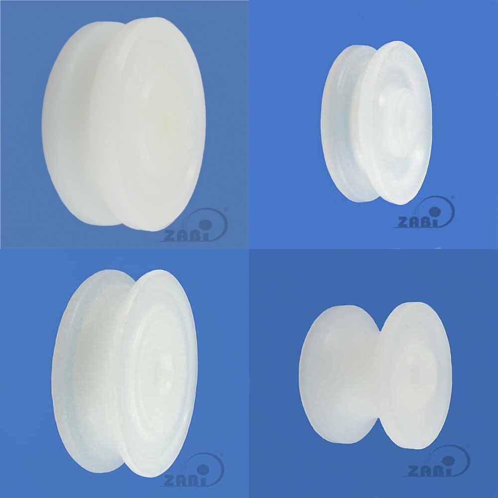 Profil- Kunststoffrolle f/ür Seil /Ø 20mm C20//4 ZAB-S C20//4 /Ø 100 mm Polyamid