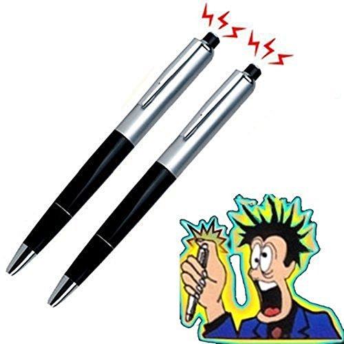 Forum Novelties Qingsun 2Pcs Prank Trick Toys Electric Shocking Pen with - Pen Novelty Shocking