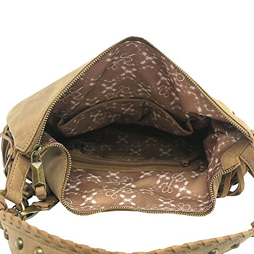 Delilah Crossbody Jessica Multi Women's Simpson Patchwork Hobo Neutral PwnTE1qgx