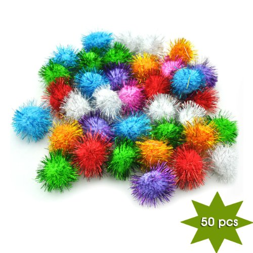 Kitty Scrapbooking Cat - Yazy Craft Sparkle Balls 50 pcs