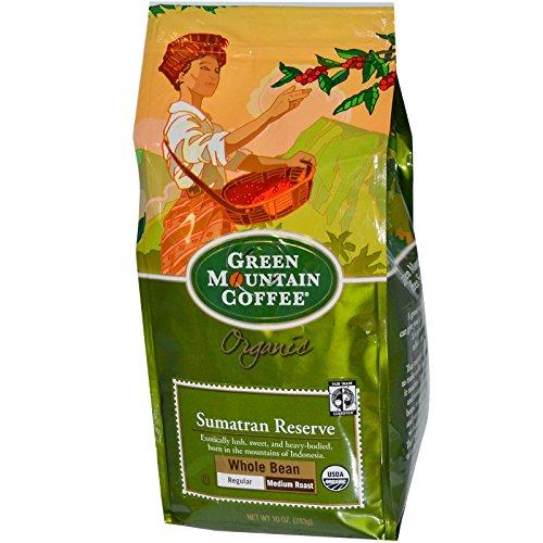 Green Mountain Coffee Comme  Trade Organic Sumatran Reserve, 10 Ounce Bag