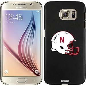 Coveroo Samsung Galaxy S6 Black Thinshield Case with Nebraska Helmet Design
