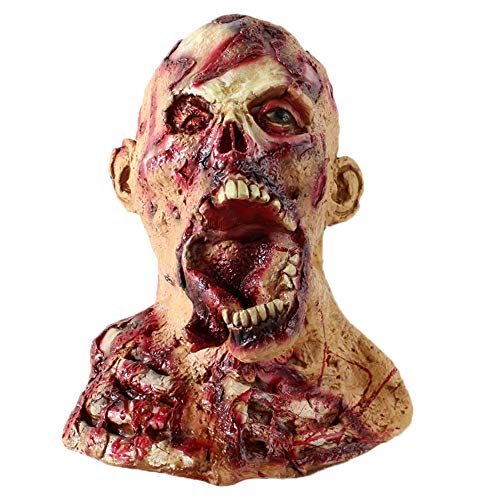 Halloween Decaying Zombie Mask Halloween Costume Party Mask Horror of the Zombie Mask Halloween Adult Mask Scary, TLT Retail -