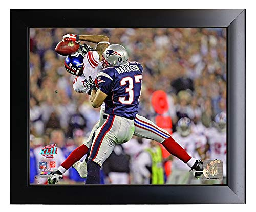 Framed New York Giants David Tyree Makes The Helemt Catch During Super Bowl 42. 8x10 Photo Picture. - Giants 8x10 Picture