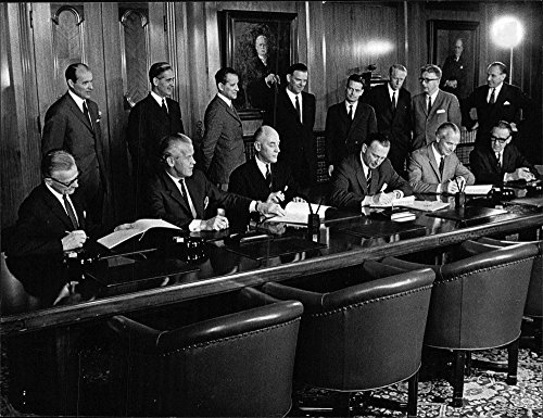 Vintage photo of The World Bank issues its first bond loan in Sweden