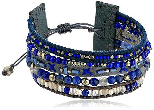 Chan Luu Multi-Strand Pull Blue Mix Tie (Chan Luu Multi Strand)