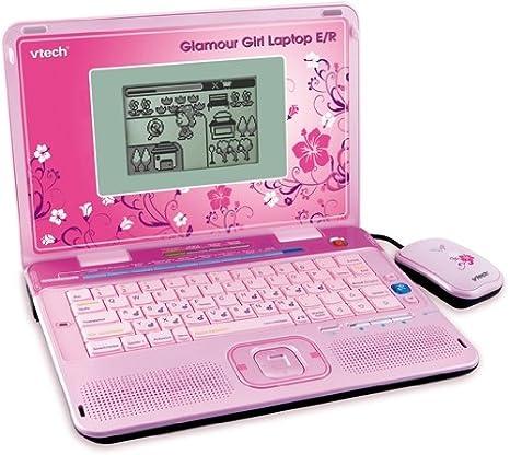 VTech 80-117994 - Ordenador portatil con juegos educativos Glamour Girl [importado de Alemania