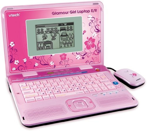 Vtech 80 117994 Lerncomputer Glamour Girl Laptop Er Amazonde