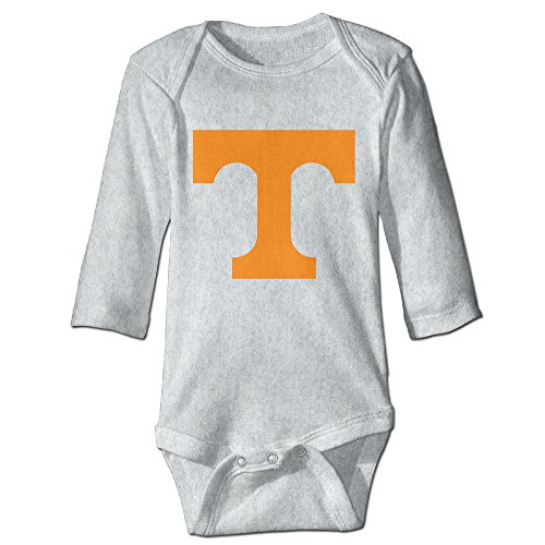 Price comparison product image OOKOO Baby's University Of Tennessee Volunteers Logo Bodysuits Ash 24 Months