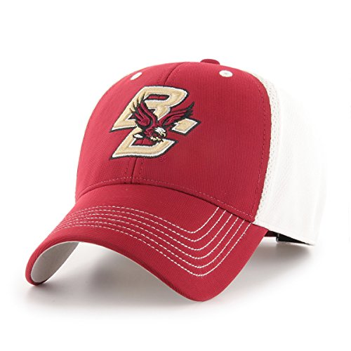 (NCAA Boston College Eagles Sling OTS All-Star MVP Adjustable Hat, Cardinal, One Size)