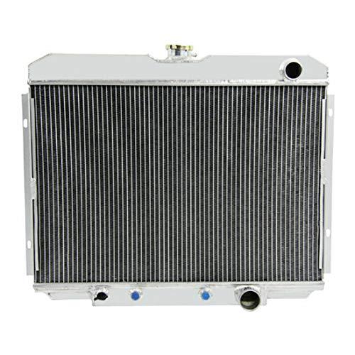 Coolingcare 4 Row Full Aluminum Radiator for Ford Mustang GT-350 V8 Fairlane Ranchero - Ranchero Ford Gt