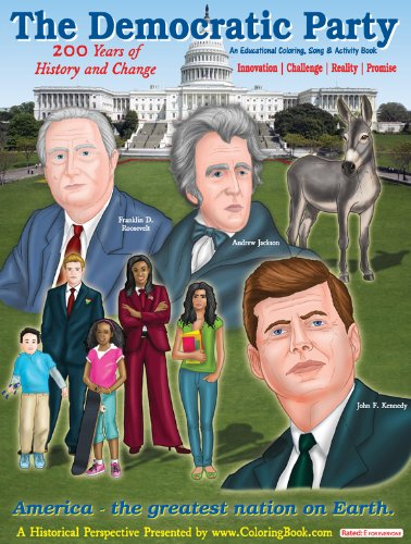 The Democratic Party: 200 Years of History and Change Coloring and Activity Book