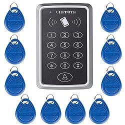Uhppote 125khz Single Door Proximity Rfid Card Access Control Keypad Include Em4100 Id Keyfobs