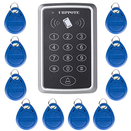 UHPPOTE 125KHz Single Door Proximity RFID Card Access Control Keypad Include EM4100 ID (Access Control)