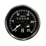Complete Tractor 1207-7001 Tachometer, Black