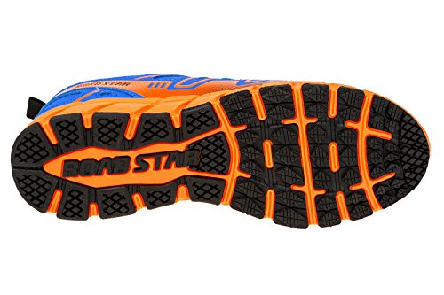 gibra - Zapatillas de running de Material Sintético para hombre blau/neonorange