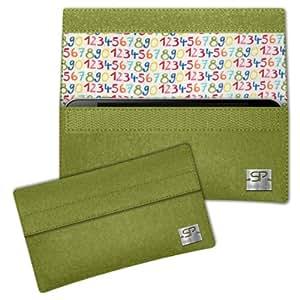 SIMON PIKE Cáscara Funda de móvil NewYork 12 verde Samsung GALAXY GRAND NEO Fieltro de lana