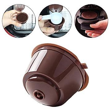 Binglinghua 5pcs reutilizable Cápsula Pod Filtro de café taza soporte para máquina de café Nescafe gusto: Amazon.es: Hogar