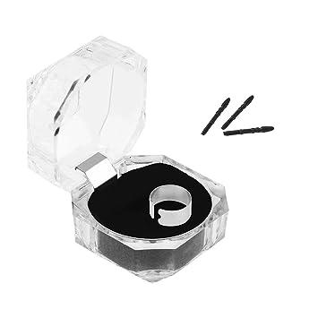 ASHATA 3pcs Ersatz Spitze f/ür Pro3 Pen Biegsam 3 St/ücke Durable Touch Screen Stylus Tip Stiftspitze Refill,Empfindliche Ersatz Spitze Kit mit Clip f/ür Micro Pro3 Touch Pen Stylus Schwarz