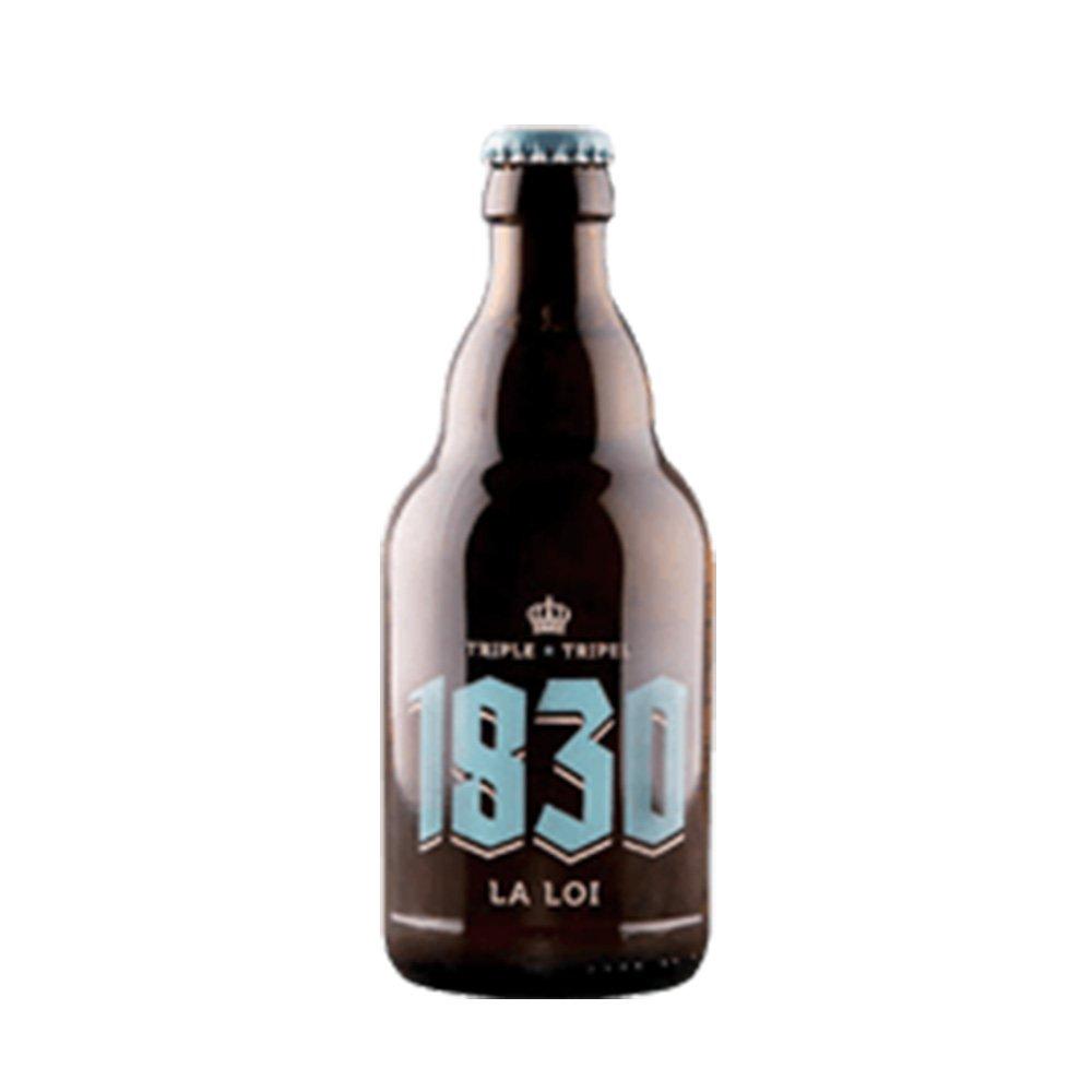 1830 ラロイ トリプル 8度 330ml 24本セット(1ケース) 瓶 ベルギー ビール [並行輸入品] B074GNMDWY