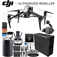 DJI Inspire 2 Quadcopter with CinemaDNG and Apple ProRes Licenses with Zenmuse X7 Camera and 3-Axis Gimbal Starters Bundle