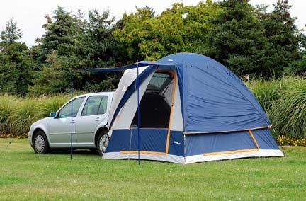 Sportz Dome-To-Go Hatchback / Wagon Tent (For Chevy Aveo and Volt Models) (Dome Truck Tent)