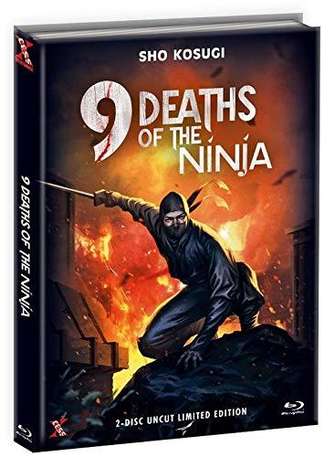 9 Death of the Ninja - Die 9 Leben der Ninja - Uncut - Mediabook - Limited Edition  (  DVD), Cover C [Blu-ray]