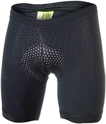 Bioracer Sprinter Enduro Braces Short Unisex Black 2017 Bicicleta Pantalones, Negro: Amazon.es: Deportes y aire libre