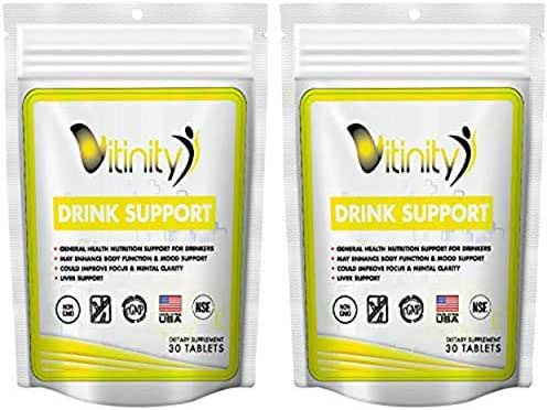 Anti Alcohol Support Supplement - Craving Support,Liver Health, Reduce Alcohol Formula - Kudzu, Milk Thistle, Holy Basil,DHM for All Natural Detoxify, Gradual Reduction,Nutrient Replenisher - 30 Days