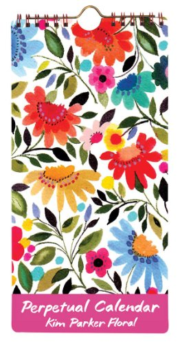 Kim Parker Floral Perpetual Calendar