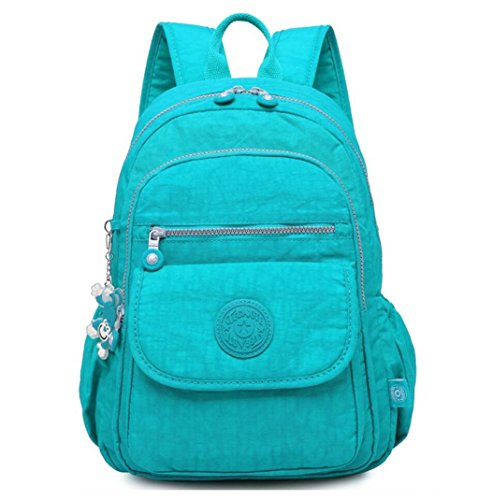 Fashion School Camping Daypack Travel Backpacks Lightweight Bag for Student Girls Womens and Men Laptop Backpack (Lake Blue) by BMBag