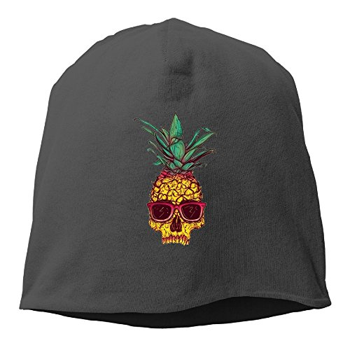 Pineapple Skull Sunglasses Bone Mens Womens Cuff toboggan Knit Beanies Wood Trucker Caps Artwork Unisex Winter Hats Funny For Outdoor,Dance,Hip - Dance Guy Sunglasses