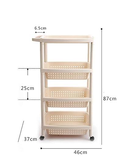 GZ Estante para Toallas de baño, estantes para Inodoro Piso de plástico Espesar los estantes