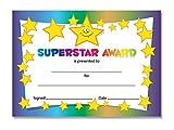 'Superstar' - Award certificates - 16 x A6 cards, Schools,Teachers, kids