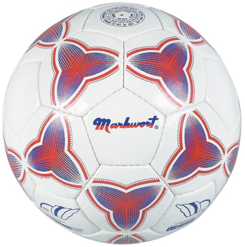 Markwort Synthetic Leather Soccer Ball, Size-4