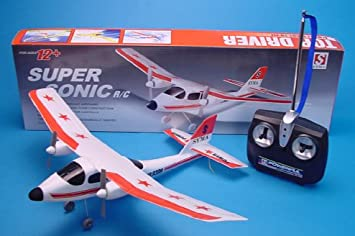 """NEW 11/"""" Remote Control Aeroplane Aircraft Rechargeable Electric Kids Toy Gift UK"""