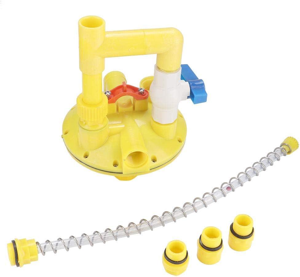 Jadpes Regulador de línea de Agua, Válvula de reducción de presión,Vvula Reguladora De Presi, Acuicultura, CR En Lea De Flotaci, Multiconector, Regulador Automico, Bebedero De Tubos, Vvula