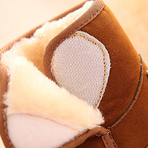 PENGYGY Baby Shoes New Fashion Cute Toddler Winter Baby Child Style Cotton Boot Boys Girls Warm Snow Boots by Pengy--Shoes (Image #5)