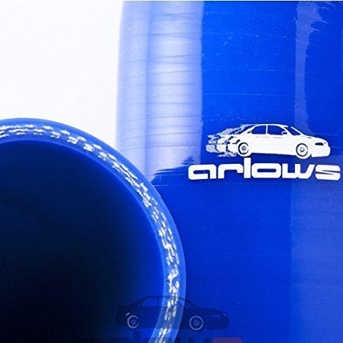 diametro: 50 mm tubo Autostyle-Riduttore in Silicone colore: rosso 70 mm