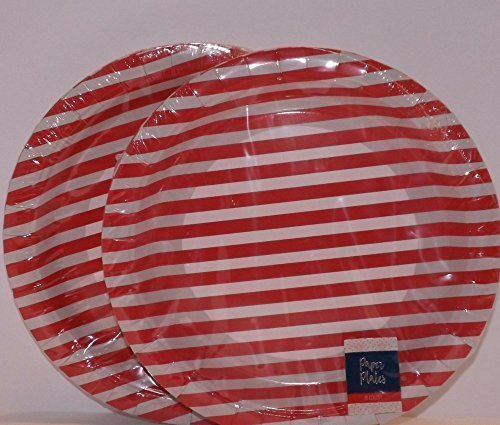 4th of July Solider Homecoming Celebration Patriotic Party Supplies Plates and Napkins Service for 16 with Bonus 8 x 11.5 Plege of Alligenace Keepsake Card and Flags by One Lanvender Lane (Image #2)
