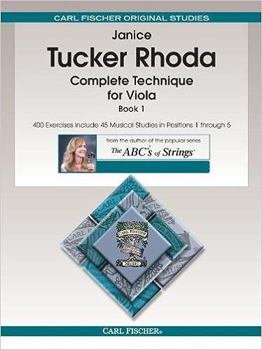 Amazon.com: Complete Technique for Viola, Book 1 (8601423504186 ...