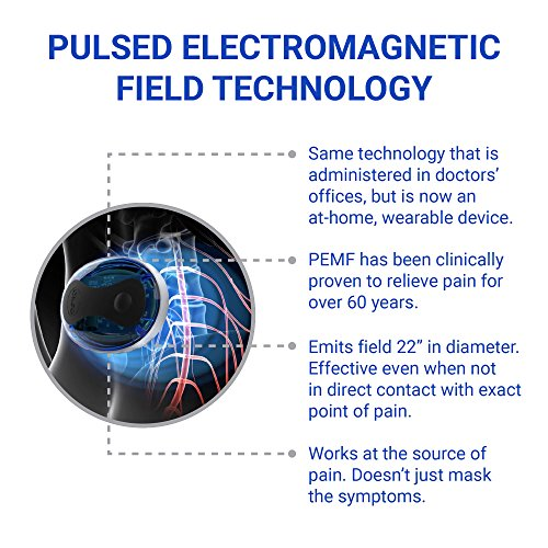 Portable Electromagnetic Pulse Therapy for Muscle Recovery, Reduce Inflammation, Muscle Stiffness and Joint Pain Reduction. Optimized PEMF by OSKA PULSE by OSKA (Image #4)