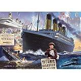 Falcon De Luxe Titanic  Jigsaw Puzzle (1000 Pieces)