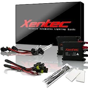 XENTEC H1 5000K Advanced Slim Alloy Ballast HID Xenon Kit (OEM White)