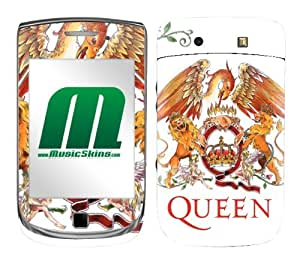 MusicSkins, MS-QUEN10199, Queen - Crest Red, BlackBerry Torch (9800), Skin