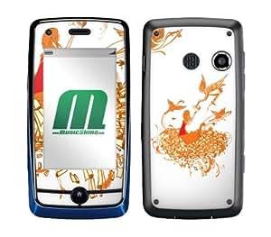 MusicSkins, MS-SHRP110088, Sharp Shirter - Keep In Touch, LG Rumor Touch (LN510/VM510), Skin